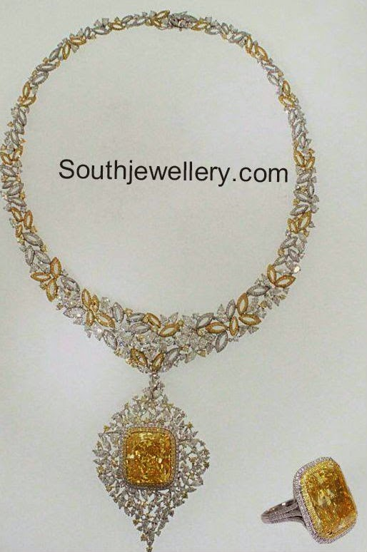 diamond necklace designs 2014