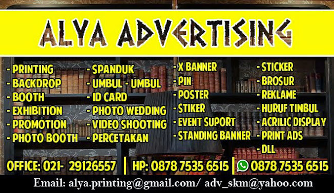 Digital Printing Backdrop dan Percetakan Banner Spanduk