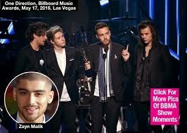 One Direction Thank 'Our Brother' Zayn Malik During BBMAs Speech