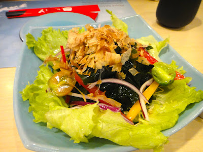 Wakame Salad at Sato Japanese Restaurant Central Park Mall