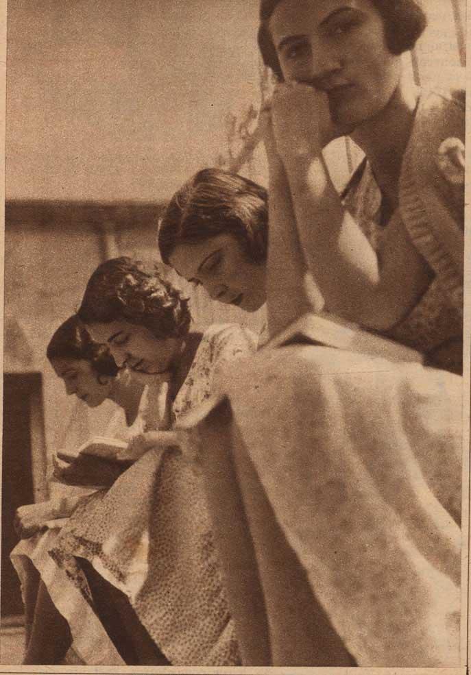 Residencia de Señoritas, 1933