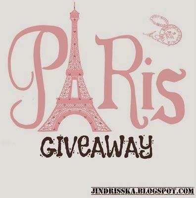 Paris Souvenirs Giveaway by JINDRISSKA