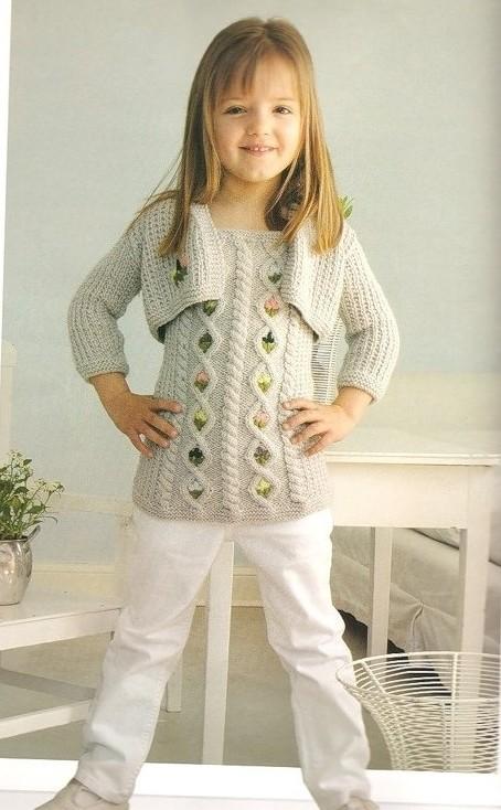 Блузки Для Девочки Вязанные Крючком