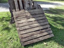Vintage Home Love Rustic Pallet Bench