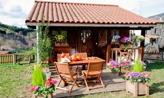 Ideas para caba as rusticas casas ideas for Cabanas para jardin