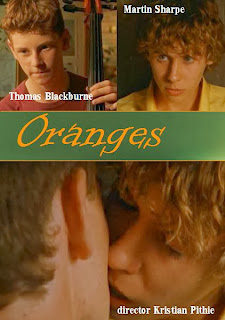 Naranjas, carátula del corto gay