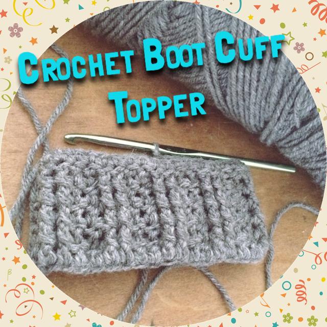 Tampa Bay Crochet: New Free Crochet Boot Cuff Topper ...