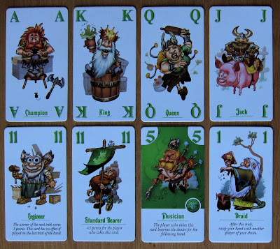 The Dwarf King - The Dwarf suit picture cards