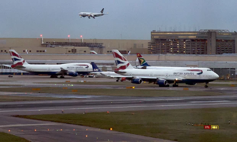 Drone flew 'within wingspan' of plane approaching Heathrow