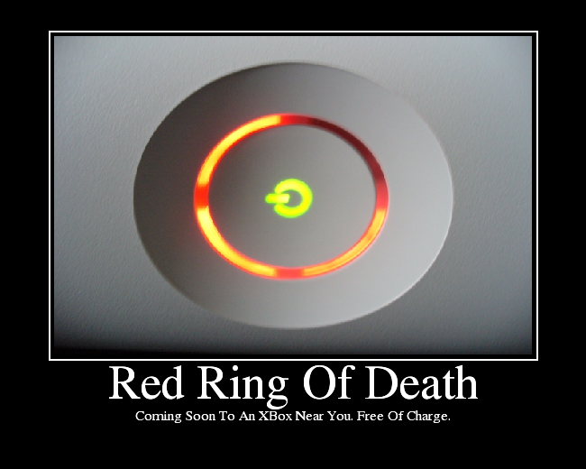 What Does Red Ring Mean On Original Xbox