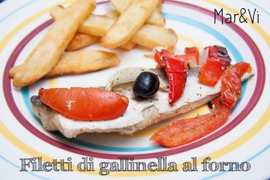 Marvi Blog Oggi Cucino Io Filetti Di Gallinella Al Forno