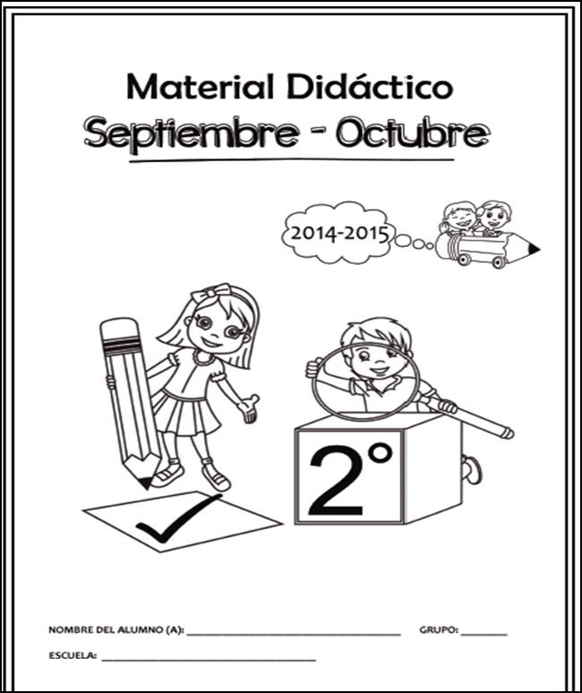 Cuadernillo de Apoyo Didáctico para Segundo Grado 2014 - 2015