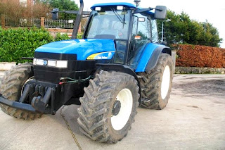 Tractor New Holland TM 130 3 733612 Tractoare New Holland TM130 second hand de vanzare 130CP An 2006