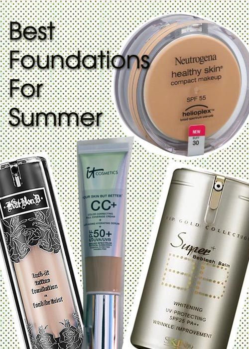 Best foundations to use in the summer