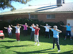 Tai Chi group in action