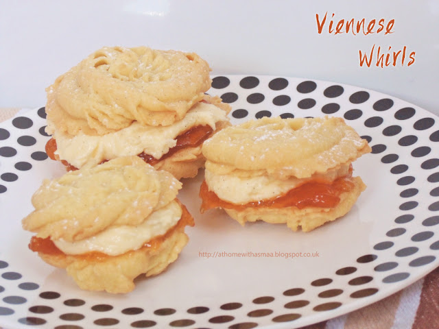 viennese whirls recipe | Halal Home Cooking