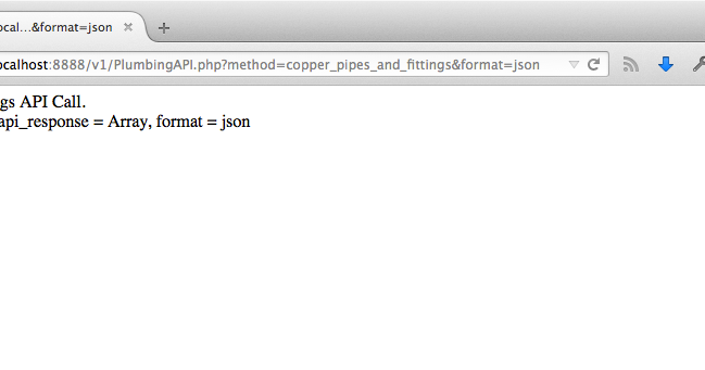how to create api in php