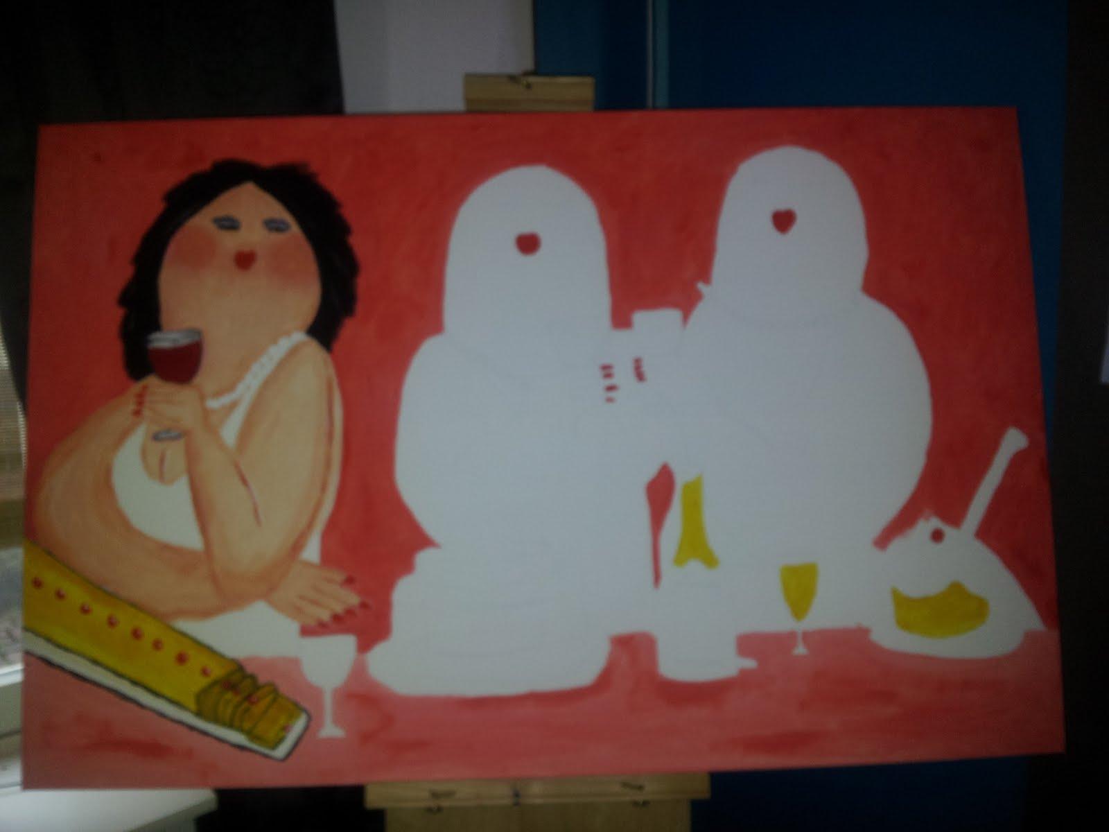 Ditjes en datjes dikke dames for Dikke dames schilderen