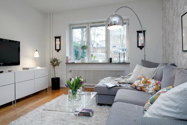Buscando el sof perfecto la garbatella blog de - Salones pequenos decorados ...