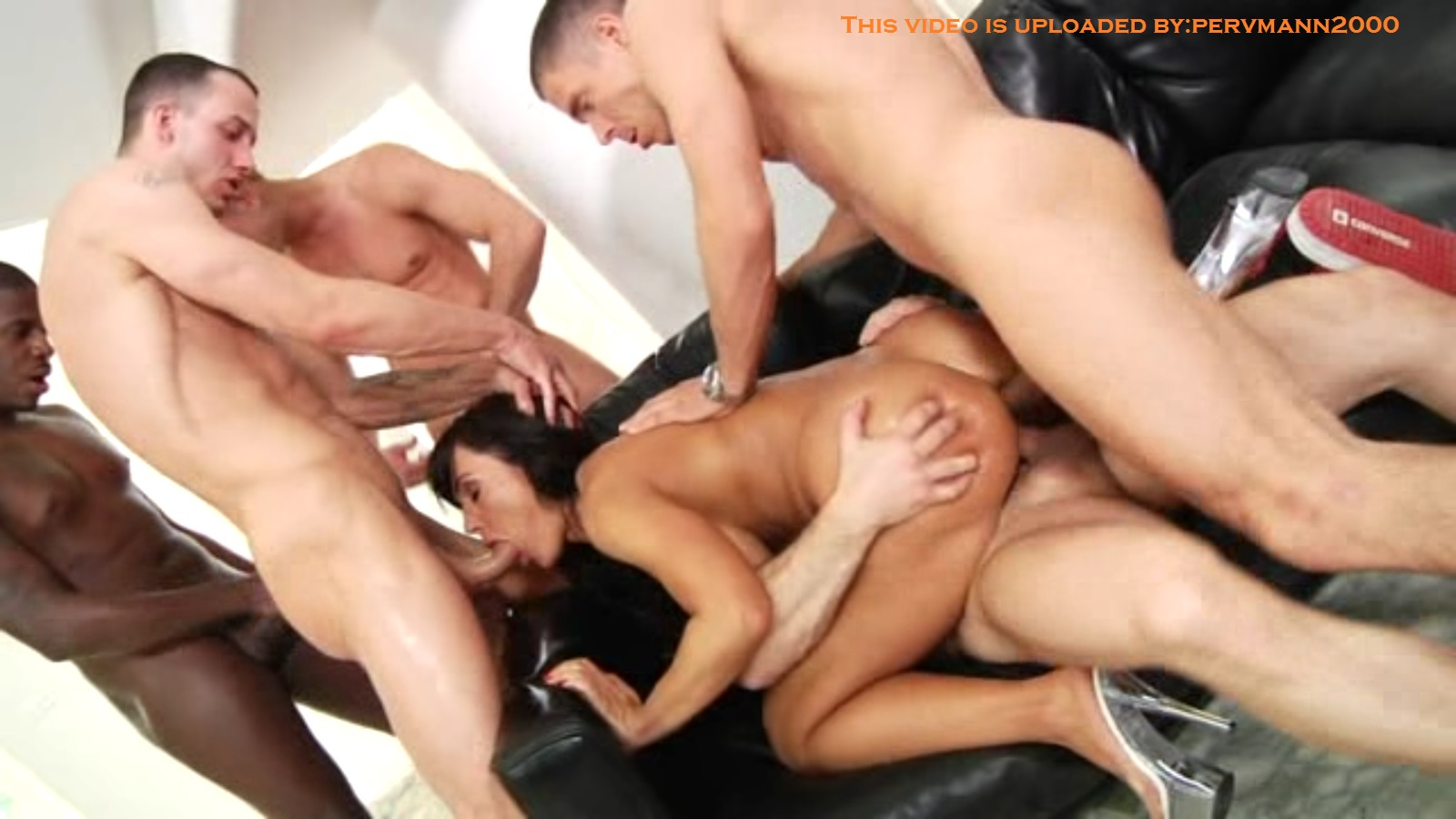 lisa ann gang bang
