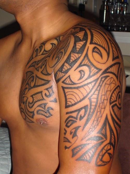 top 30 stylish tribal tattoos for men. Black Bedroom Furniture Sets. Home Design Ideas
