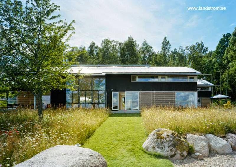 Villa sueca diseño y estilo Contemporáneo