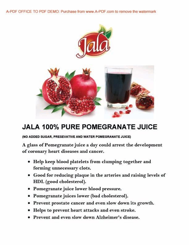 Pomegranate Benefit