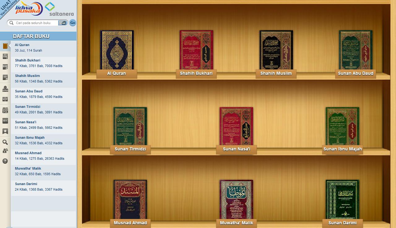 Perbanyaklah membaca Quran dan Hadis.