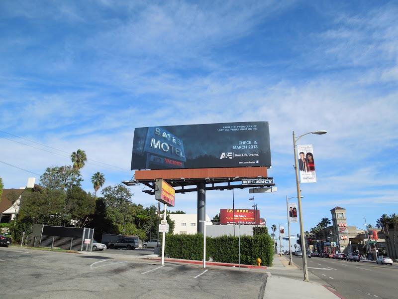 Bates Motel teaser billboard