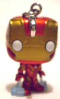 Back of Iron Man Pocket Pop Keychain