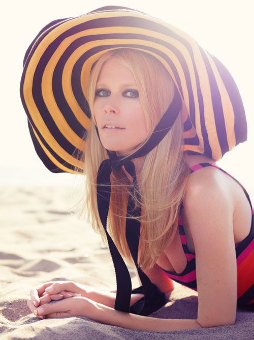 Claudia Schiffer 40-year-old super model