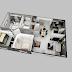 نماذج مجسمة لتصميم شقق سكنية مختلفة ( جزء ثان )