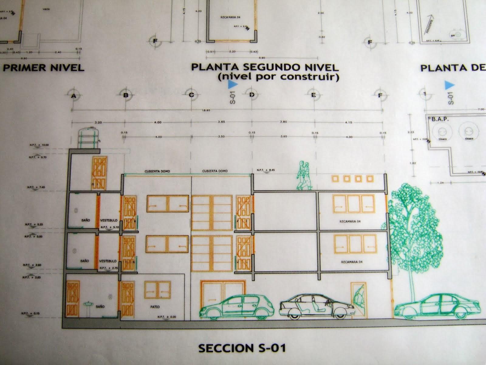 Precio de dibujo planos arquitect nicos de casa habitaci n for Planos de casa habitacion