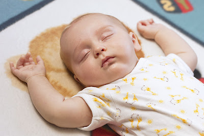 Baby Kid Sleeping photo
