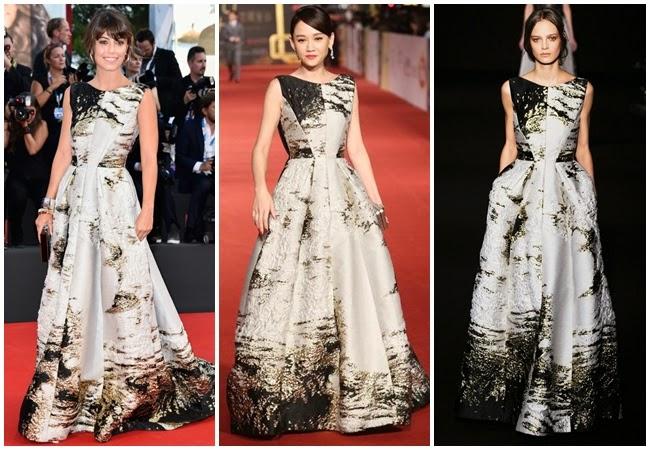 2014金鐘獎:陳喬恩撞衫義大利女星 Alessandra Mastronardi