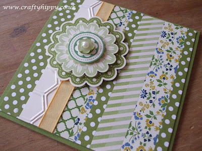 Quint-Essential Flower stamp, Stampin' Up!