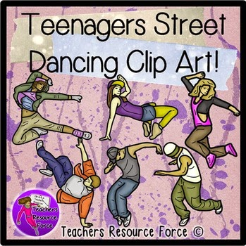 https://www.teacherspayteachers.com/Product/Teenagers-Street-Dancing-Clip-Art-color-and-black-line-1194747