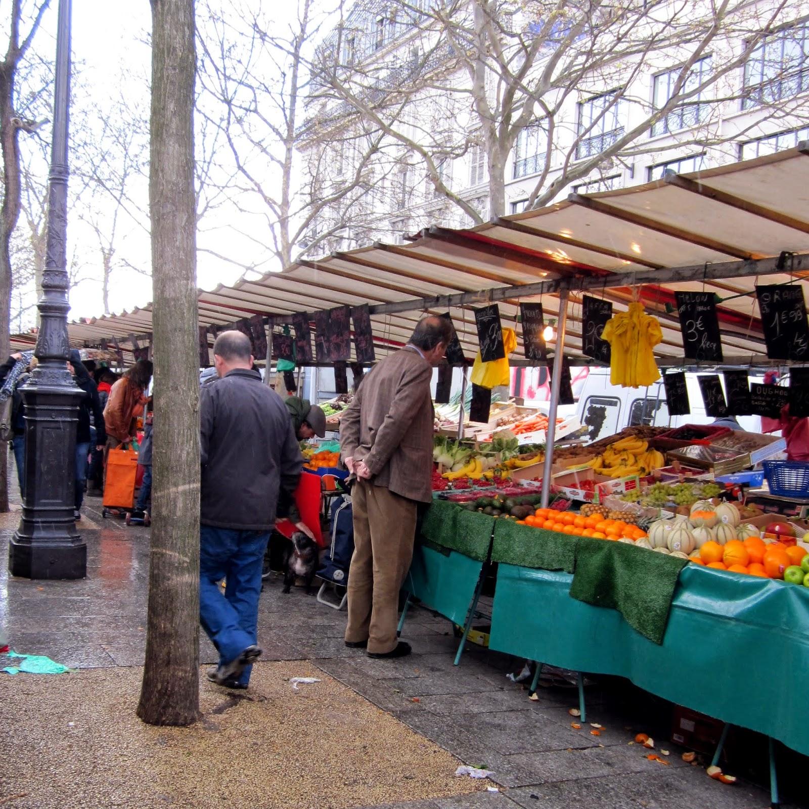 Marché Bastille Sunday Paris France
