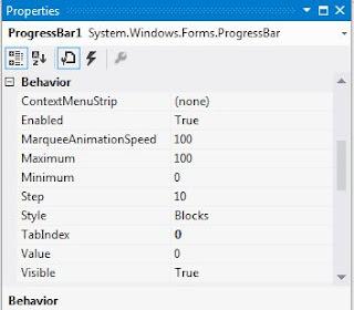 progressbar özellikleri, progressbar kullanımı