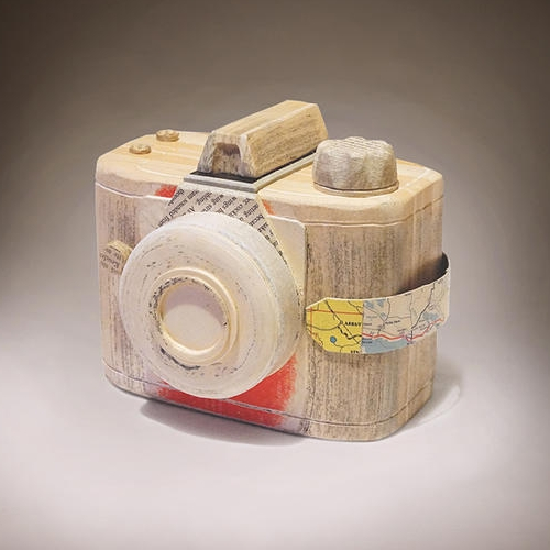 02-Agfa-Clack-Ching-Ching-Cheng-Vintage-Camera-Sculptures-Made-of-Books-and-Maps-www-designstack-co
