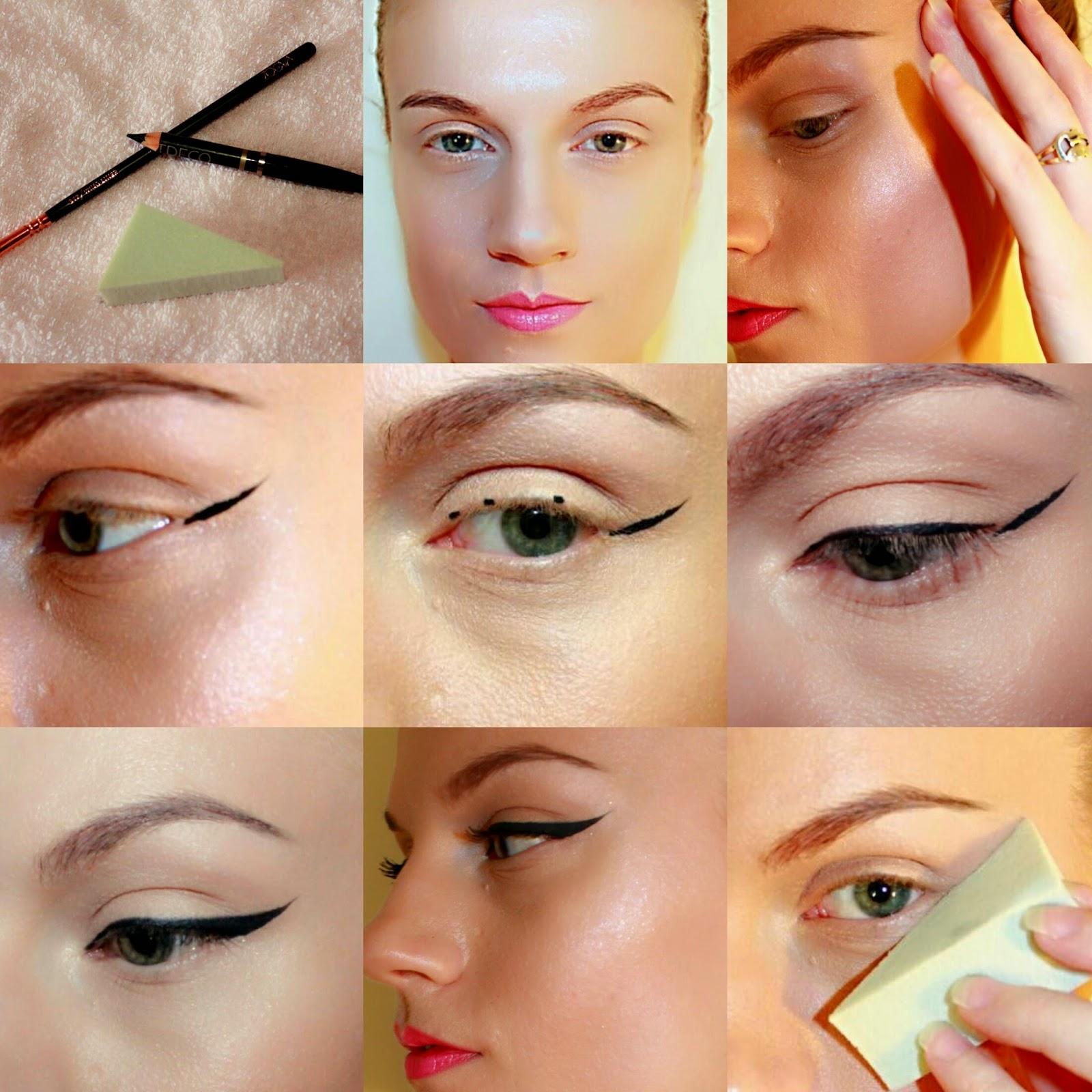 Нанесение основы под макияж фото пошагово