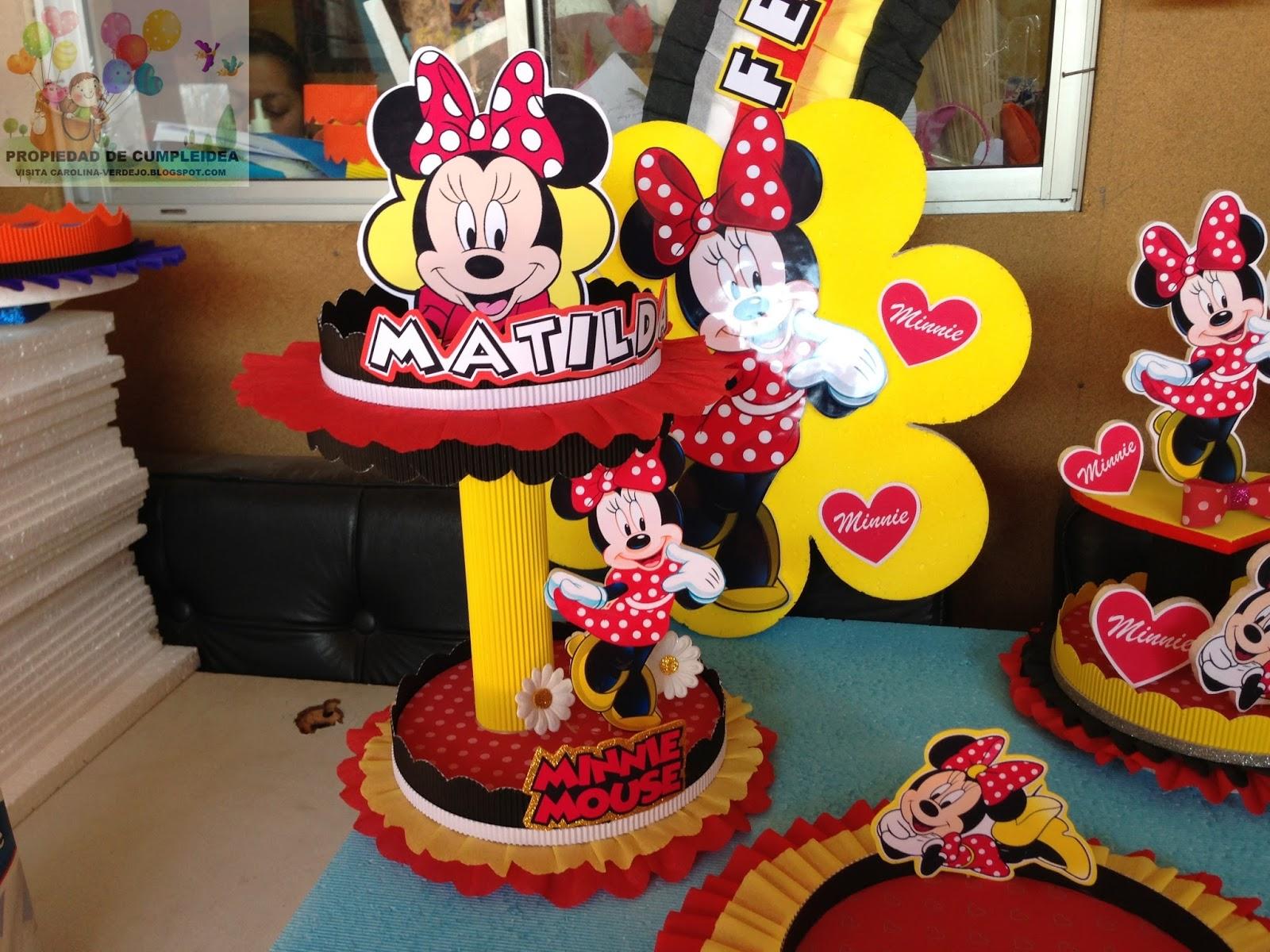 Decoracion Minnie Roja ~ DECORACIONES INFANTILES julio 2013