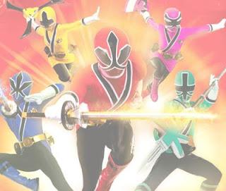 Rompecabezas de los Power Rangers Samurai