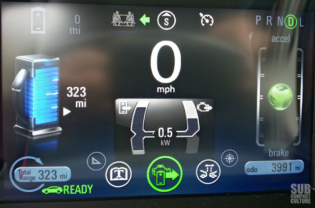 Chevrolet Volt driver's gauges