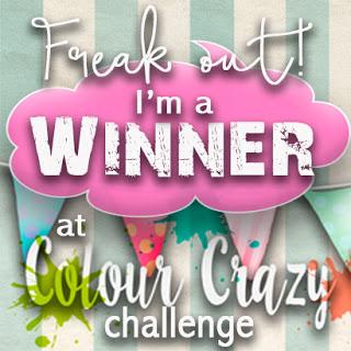 2 x Colour Crazy Craft Challenge Winner