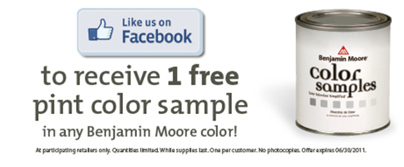image regarding Benjamin Moore Printable Coupon identify Tremendous Personal savings: Absolutely free Samples of Benjamin Moore Paint and
