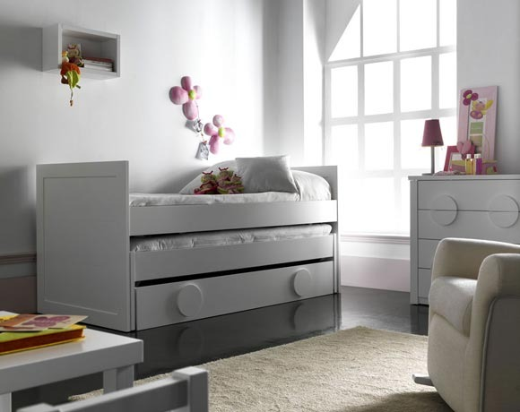 Camas y literas para ni os takata para uno dos y hasta - Dormitorios infantiles dos camas ...