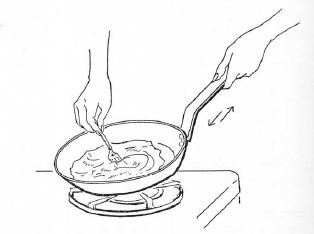 Imparare l 39 arte della cucina francese omelette brouille - Imparare l arte della cucina francese ...