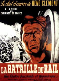 La Bataille du rail, de René Clément (1946) affiche poster