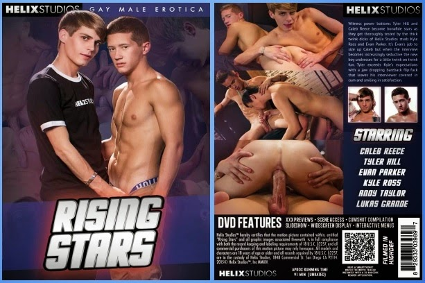 Helix Studios Rising Stars Gay Porn DVD Gayrado